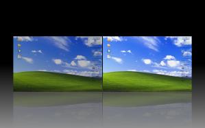 desktopnya kalo jadi dua terus mencet <super>+e