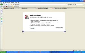 Pesan Robot Lewat Firefox3