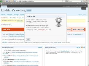 konfirmasi menunggu file untuk disesuaikan, mungkin sedang mendownload file yang diperlukan...